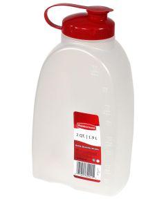 Rubbermaid MixerMate 2 Quart Bottle with Pour Lid