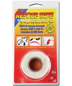 1 in. x 12 ft. White Rescue Tape