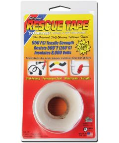 1 in. x 12 ft. Clear Rescue Tape