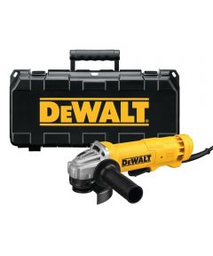 DEWALT 4-1/2 in. Corded Small Angle Grinder Kit with Carry Case