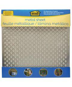 1 ft. x 1 ft. Aluminum Metal Cloverleaf Sheet