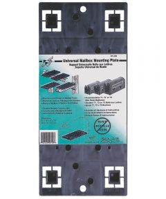 Gray Universal Mailbox Mounting Board