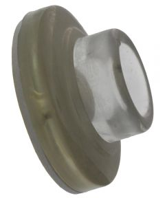 2 1/8 in. Clear Wall Mount Door Knob Bumper