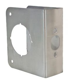 1-3/4 in. x 4-1/2 in. Stainless Steel Finish Door Protector