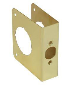 4 1/2 in. Polished Brass Door Protector