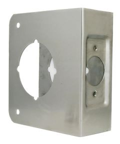 1-3/8 in. x 4-1/2 in. Stainless Steel Finish Door Protector