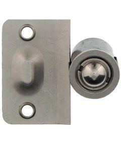 7/8 in. Satin Nickel Closet Door Drive-In Bullet Ball Catch