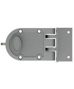 6.5 in. Silver Single Cylinder Jimmy Proof Lock