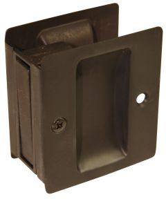 Oil Rubbed Bronze Passage Pocket Door Pull