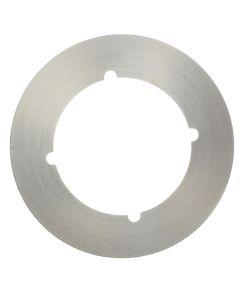 3 1/2 in. Satin Nickel Scar Cover Plate