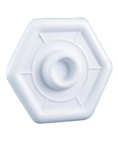 4 1/4 in. White Wall Protector Plate