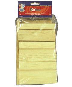 Balsa Wood Economy Bag 1/2bd ft.