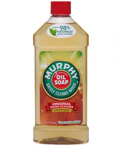Murphy Original Oil Soap, 16 oz., Bottle, Amber, Viscous Liquid, Citrus