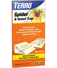 TERRO Spider and Insect Trap, 4 x 10 in