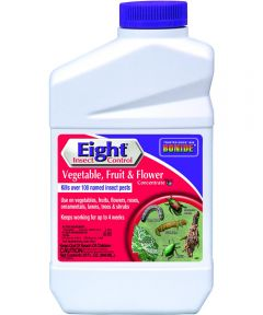 Eight Concentrated Insect Control, 1 qt Bottle, Opaque White, Liquid