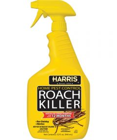 Roach Killer, 32 oz., Clear, Liquid