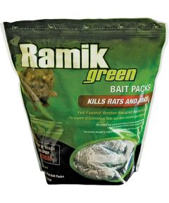 Ramik Hacco Mouse Killer, 4 oz., Pouch, Green