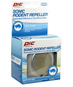 PIC Plug In Sonic Rodent Repeller for 120V Outlets