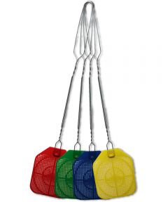 Plastic Revenge Fly Swatter, Assorted Colors
