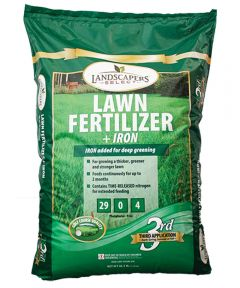 TurfCare Slow-Release Lawn Fertilizer With Iron, 16 lb., Bag, 5000 sq-ft