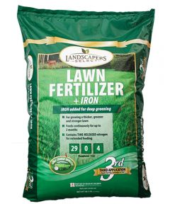 TurfCare Slow-Release Lawn Fertilizer With Iron, 15 m, Bag, 15000 sq-ft