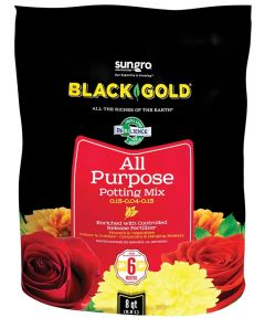 Black Gold 8 Quart All Purpose Potting Soil Mix 0.13-0.04-0.13