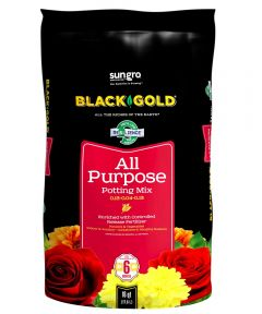 Black Gold 16 Quart All Purpose Potting Soil Mix 0.13-0.04-0.13