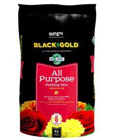 Black Gold 16 Quart All Purpose Potting Soil Mix 0.13-0.04-0.13