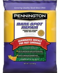 Grass Seed, Bare Spot Repair, 1 lb.