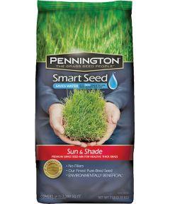 Smart Seed Grass Seed, Sun/Shade, 7 lb.
