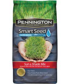 Smart Seed Grass Seed, Sun/Shade, 20 lb.
