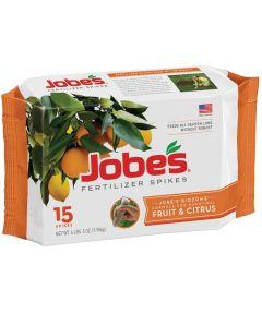 Jobe's Easy Gardener Dry Fertilizer Spikes, 15 Pack
