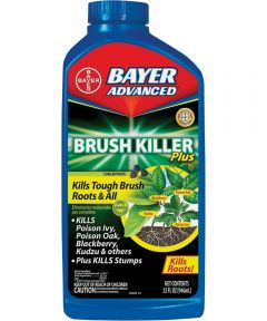 Bayer Advanced Concentrated Brush Killer, 32 oz., 4000 sq-ft., Clear, Liquid