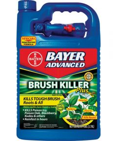 Bayer Advanced Brush Killer, 1 gal, Light Yellow, Liquid