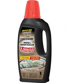 Spectracide Concentrate Weed and Grass Killer With Extended Control, 32 oz., 3000 sq-ft., Liquid