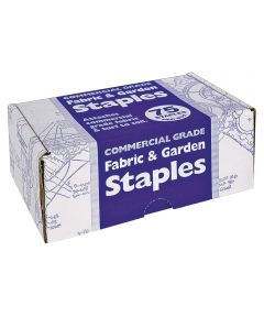 U-Shaped Fabric and Garden Staple, 1 in., 4 in. Leg, 75 Pack