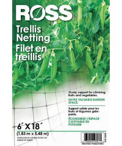 Ross Garden Trellis Netting, 6 x 18 Foot
