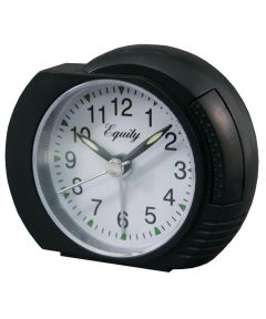 Quartz Analog Alarm Clock with Lighted Dial