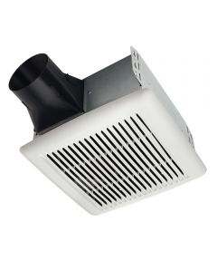 110 Cfm White Single-Speed Bath Fan