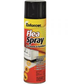 Flea Spray, 14 oz., Liquefied Gas
