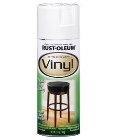 Specialty Vinyl Spray, 11 oz Spray Paint, White