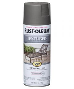 Stops Rust Textured Spray, 12 oz Spray Paint, Dark Pewter Textured