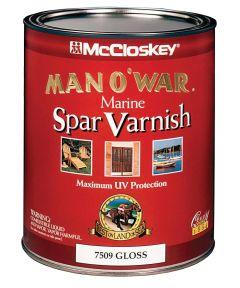 1 Quart Gloss Man O ft. War Marine Spar Varnish