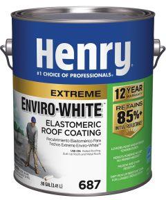 1 Gallon White Extreme Enviro-White Elastomeric Roof Coating