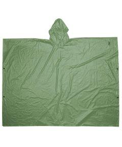 Green PVC Poncho