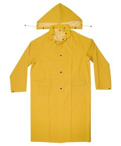 2 Piece 2Xl Yellow Trench Coat