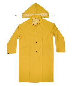 2 Piece Large Yellow Trench Coat