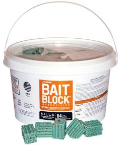 Rodent Bait Block with Peanut Butter Flavor, 64 Count