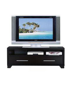 TV & Media Cabinet Stand, Black