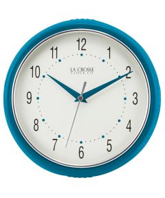 9.5 in. Teal Wall Clock